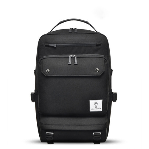 NEW-ROPE BIG BACKPACK (BLACK)