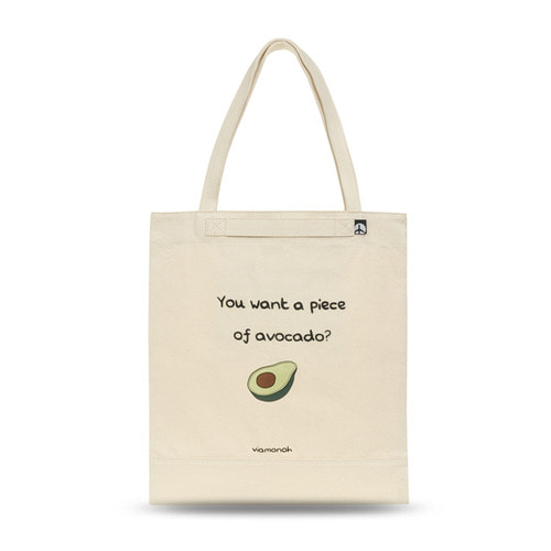 PLAYFUL CANVAS ECOBAG (SAND)