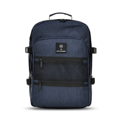 VIAMONOH NEW-ROPE ONE POCKET BACKPACK (NAVY)