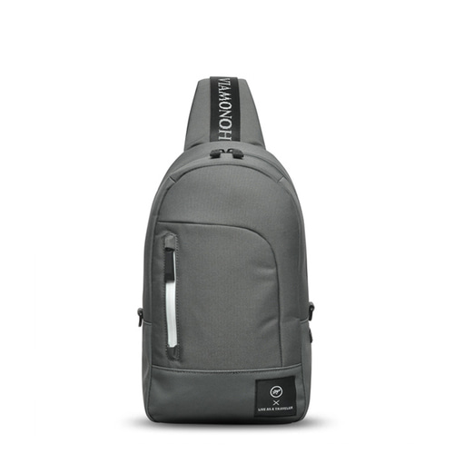 VIAMONOH SPACE SLING BAG (GRAY)
