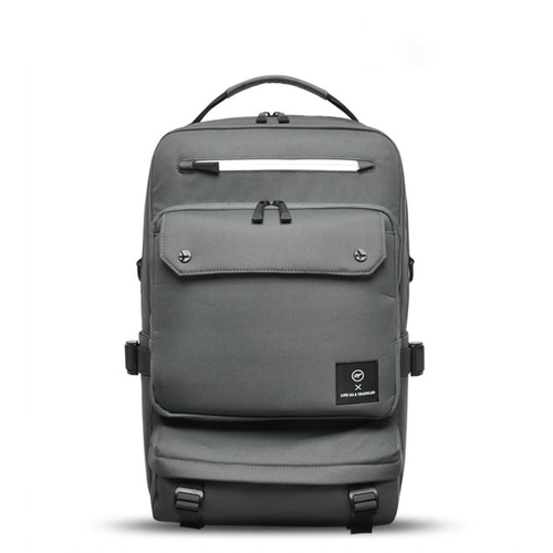 VIAMONOH NEW-ROPE BIG BACKPACK (GRAY)