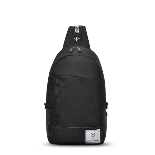 VIAMONOH SPACE SLING BAG (BLACK)