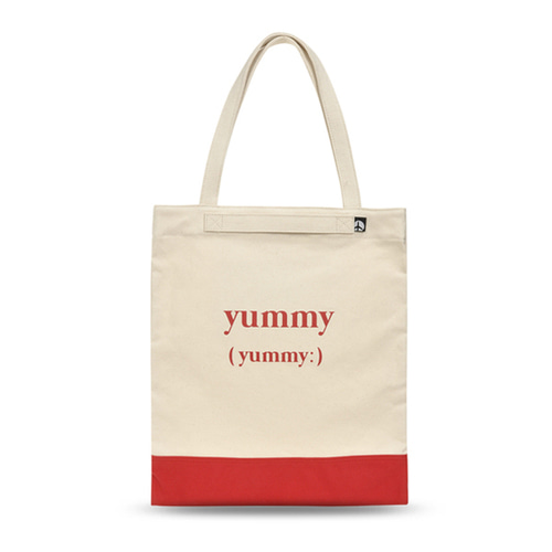 VIAMONOH PLAYFUL CANVAS ECOBAG (RED)