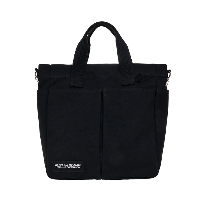 VIAMONOH DAILY TUMBLER BAG (BLACK)